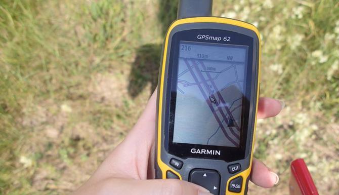 GPS w pracy botanika